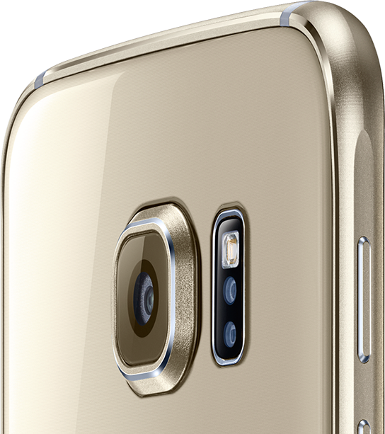 Figure 4 : Samsung Galaxy S6 camera [5]