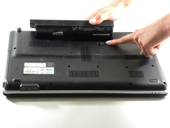 Figure 2 : HP Pavilion DV6 1245 dx battery [2]